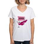 Winner Ticket (1) Women's V-Neck T-Shirt