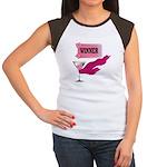 Winner Ticket (1) Women's Cap Sleeve T-Shirt