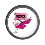 Winner Ticket (1) Wall Clock