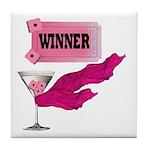 Winner Ticket (1) Tile Coaster