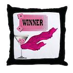 Winner Ticket (1) Throw Pillow