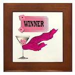 Winner Ticket (1) Framed Tile