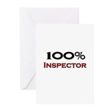 100 Percent Inspector Greeting Cards (Pk of 10)
