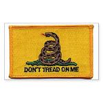 Don't Tread on Me! Rectangle Sticker 10 pk)