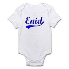Vintage Enid (Blue) Infant Bodysuit