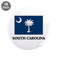 "South Carolina 3.5"" Button (10 pack)"