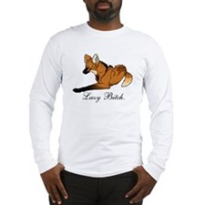 Lazy Bitch : Maned Wolf Long Sleeve T-Shirt