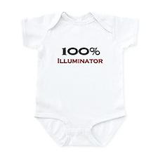 100 Percent Illuminator Infant Bodysuit