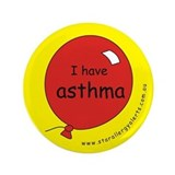 I have asthma-medical alert 3.5&amp;quot; Button