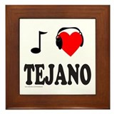 TEJANO MUSIC Framed Tile