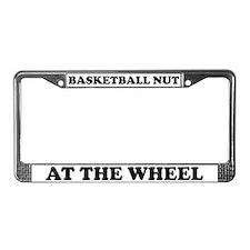 Basketball Nut License Plate Frame