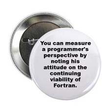"Humorous perspective 2.25"" Button"