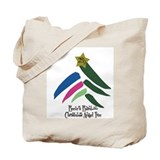 2009 Christmas Angel Tree Tote Bag