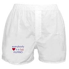 EVERYBODY LOVES A HOT FILIPINO Boxer Shorts