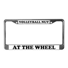 Volleyball Nut License Plate Frame