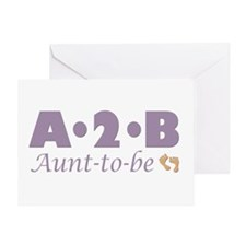 Aunt to Be Greeting Card