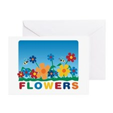 """Flowers"" Greeting Cards (Pk of 10)"