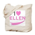 I Love Ellen Tote Bag