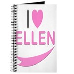 I Love Ellen Journal