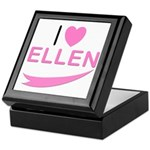 I Love Ellen Keepsake Box