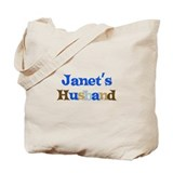 Janet's Husband Tote Bag