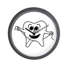 Happy Tooth Wall Clock