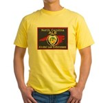 N.C. A.L.E. Yellow T-Shirt