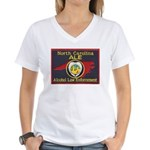 N.C. A.L.E. Women's V-Neck T-Shirt