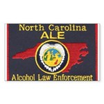 N.C. A.L.E. Rectangle Sticker 50 pk)