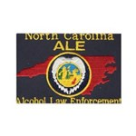 N.C. A.L.E. Rectangle Magnet (10 pack)