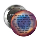 """Little Child shall Lead Them"" 2.25"" Button (10 pa"