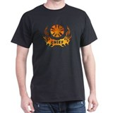 Fire Chiefs Flame Tattoo T-Shirt