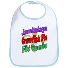 Jambalaya, Crawfish Pie, File Bib