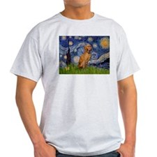 Starry Night & Vizsla T-Shirt