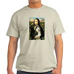Mona Lisa & Siberian Husky Light T-Shirt