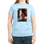 Princess / Siberian Husky Women's Light T-Shirt