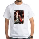 Princess / Siberian Husky White T-Shirt