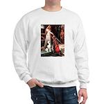 Princess / Siberian Husky Sweatshirt