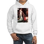 Princess / Siberian Husky Hooded Sweatshirt