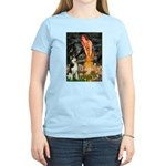 Mid.Eve / Siberian Husky Women's Light T-Shirt