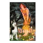 Mid.Eve / Siberian Husky Postcards (Package of 8)