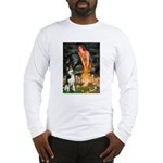 Mid.Eve / Siberian Husky Long Sleeve T-Shirt