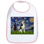 Starry Night & Husky Bib