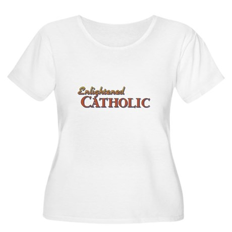 Enlightened Catholic Women's Plus Size Scoop Neck