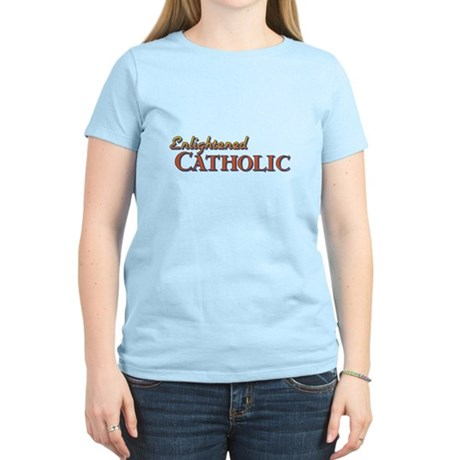 Enlightened Catholic Women's Light T-Shirt