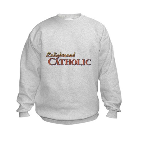 Enlightened Catholic Kids Sweatshirt