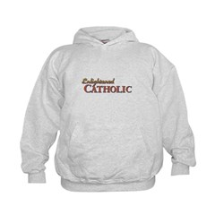 Enlightened Catholic Kids Hoodie