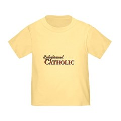 Enlightened Catholic Toddler T-Shirt
