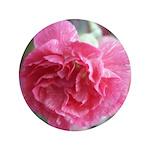 "Pink Carnation 3.5"" Button"
