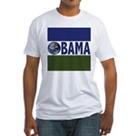 Earth for Obama Fitted T-shirt